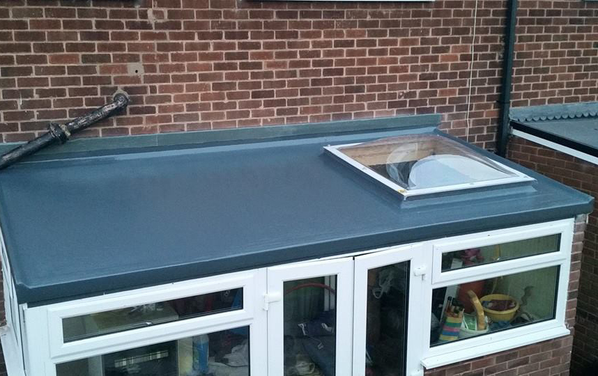 Sam Seal Fibreglass Roofing Lincolnshire Flat Roof